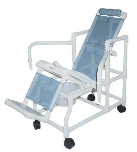 Chaises de douche avec roulettes - Chaise de douche inclinable ...