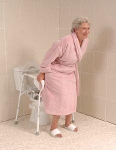 accoudoirs de toilettes pour handicapes et seniors. Black Bedroom Furniture Sets. Home Design Ideas