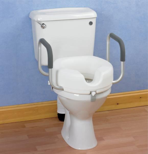 Siege de toilettes sureleve avec accoudoirs - Analyse de pratique toilette au lit ...