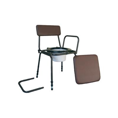 chaise percee reglable en hauteur surrey. Black Bedroom Furniture Sets. Home Design Ideas