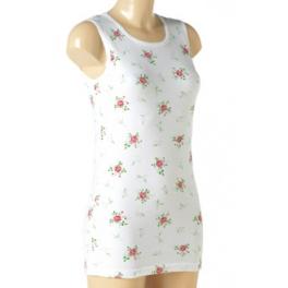 chemise de corps fleurie pour femme. Black Bedroom Furniture Sets. Home Design Ideas