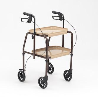 desserte de table avec freins. Black Bedroom Furniture Sets. Home Design Ideas