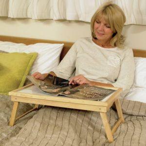 plateau de lit en bois. Black Bedroom Furniture Sets. Home Design Ideas