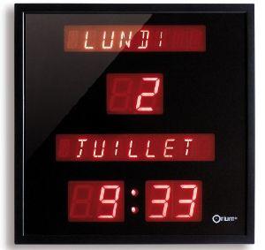 horloges pendules reveils montres a gros chiffres. Black Bedroom Furniture Sets. Home Design Ideas